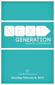 NEXT Conference 2014 Workbook cover
