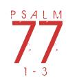 Psalm77-1-3