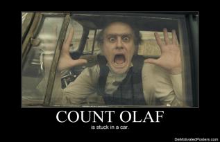 Count Olaf is too grownup