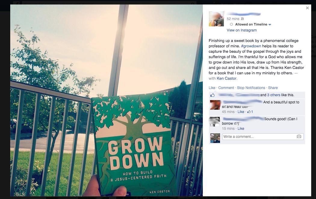 Grow Down FB Screenshot