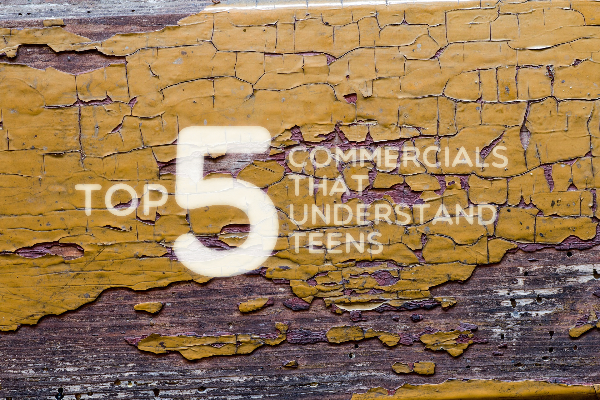 Top 5 Commercials Teens