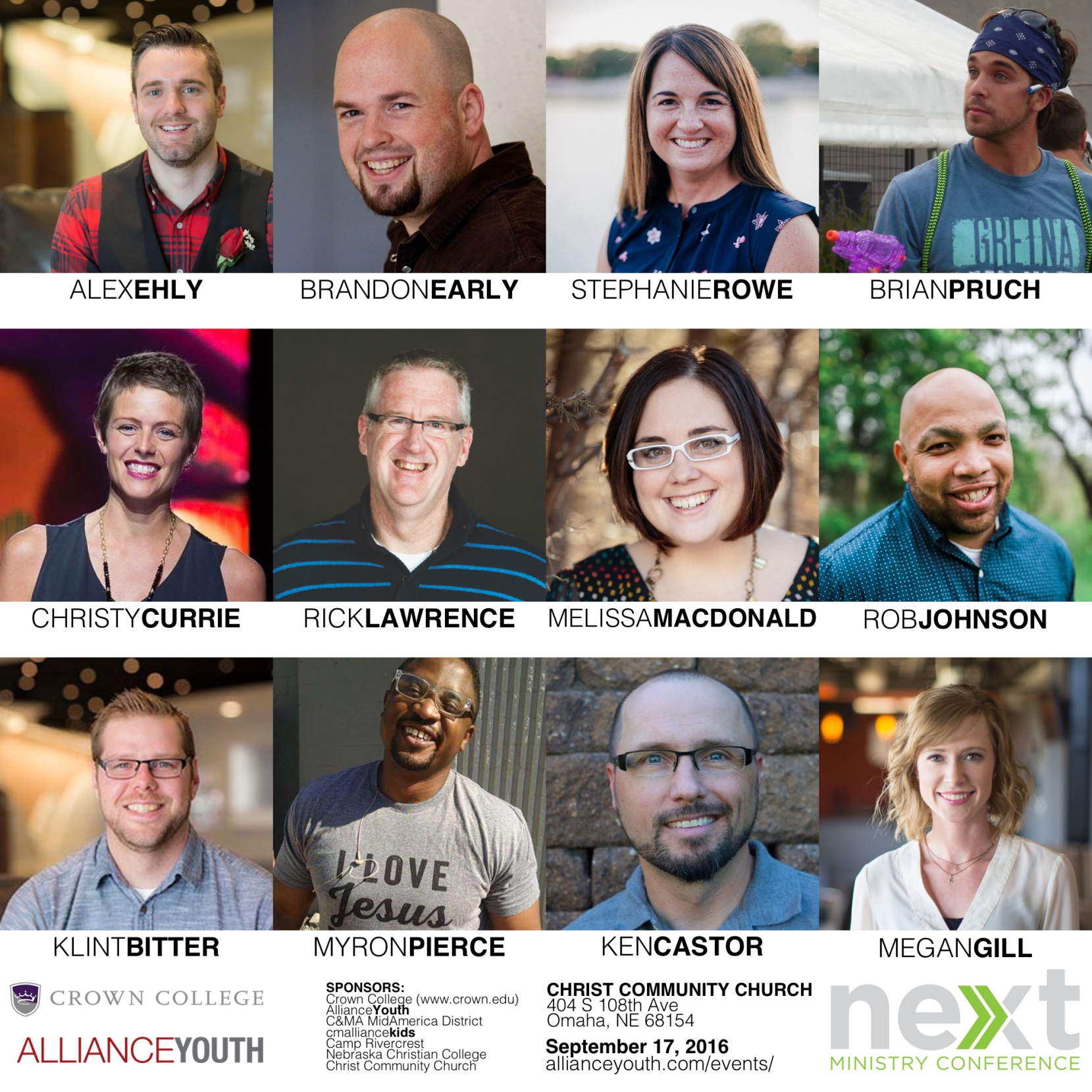 NEXT 2016 Omaha Speakers